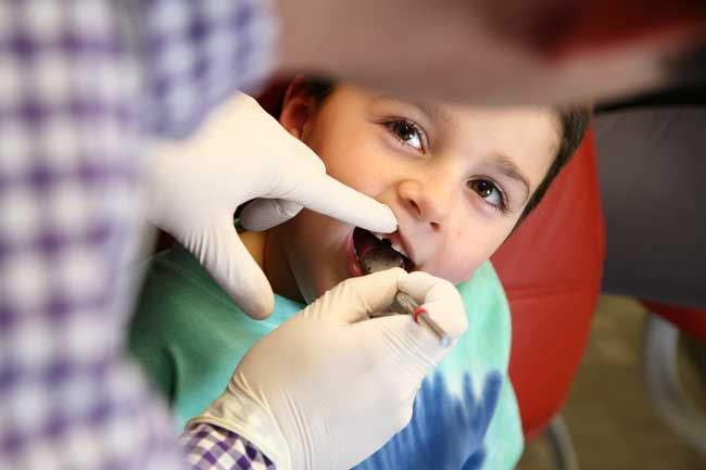 Pediatric Patient at North Easton Dental Associates
