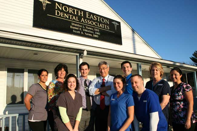 Dr Sheldon Yunes and entire staff of North Easton Dental Associates