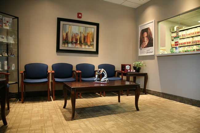 North Easton Dental Associates waiting room
